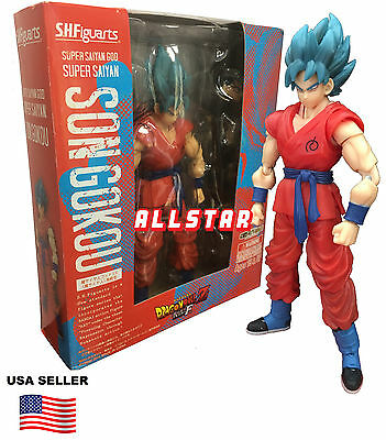 SUPER SAIYAN BLUE GOD GOKU action figure DRAGON BALL Z RESURRECTION F SERIES