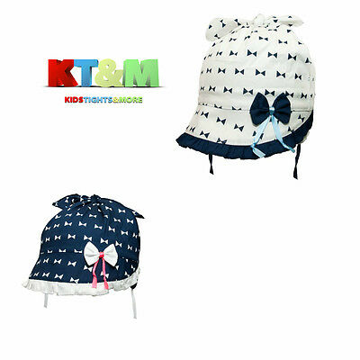 New Toddler Girl Summer Cotton Beach Holiday Hat Cap Head Scarf 18M-5 Years Bows
