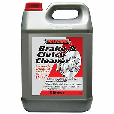 Polygard Mis12200 Brake And Clutch Cleaner 5 Litre Leaves No Residue