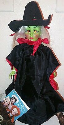 """Effanbee """"Storybook"""" Collection Wizard of Oz Wicked Witch Rare 1987 Edition"""