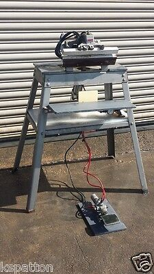 Clamco 242-13 Heat Bag Sealer with Base Stand, Foot Pedal