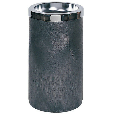 Rubbermaid 2585-00 Duramold commercial black smoking ash urn receptacle new