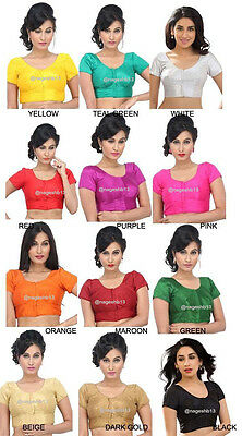 Readymade Saree Blouse, readymade blouse, indian blouse, plain blouse, choli cut