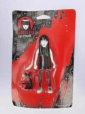 Emily the Strange Bendable Doll 2002 by Cosmic Debris