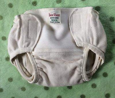 Imse Vimse Wool Diaper Cover Adjustable Size Small Nappy Cover