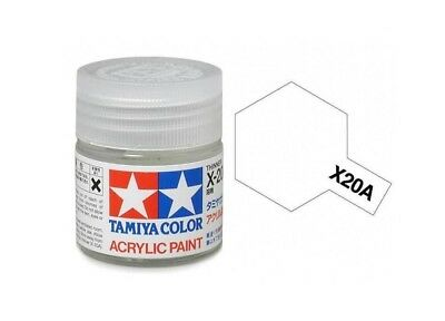 Tamiya Colore Acrilico in barattolino - Diluente - Thinner X-20A Item 81520 10Ml
