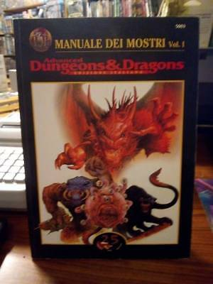 AD&D Manuale dei Mostri Volume I in italiano 25 Edition