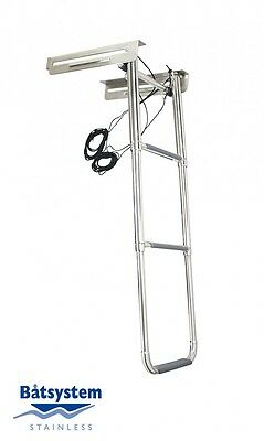Batsystem Boat ladder extendable with Box Swimming ladder Swimming ladder boat