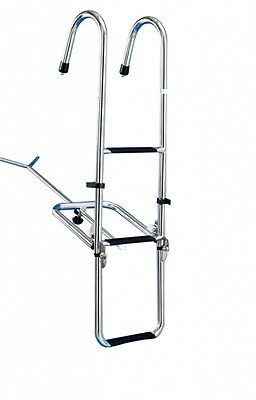 Batsystem Bow ladder to Hanging 3-levels Swimming ladder Boat ladder Boat Yacht