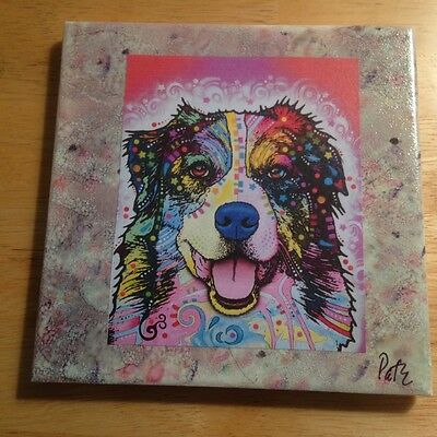 "One of a Kind Australian Shepherd 6""x6"" Ceramic Tile!"