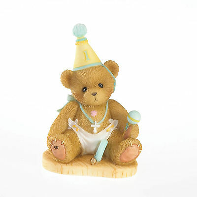 Cherished Teddies Through The Years Birthday 'Onederful to be One' Age 1 4020572