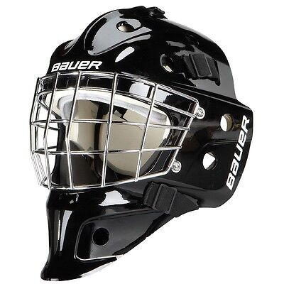 Bauer Nme 3 Junior Plain Goal Mask-Ice Hockey-Goalie