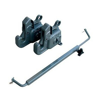 Pat's Category 1 Premium 3 Point Quick Change Hitch w/ Bar 102ST