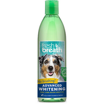 Tropiclean Fresh Breath Advanced Whitening Oral Care Water Additive 473ml For Do