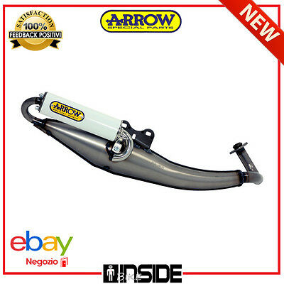 Marmitta Scooter Street White Arrow Kymco Bet & Win 50 02 - 06 33619Seb