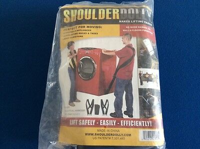 Shoulder Dolly, makes lifting heavy objects easier & safer, 2 harnesses w-strap