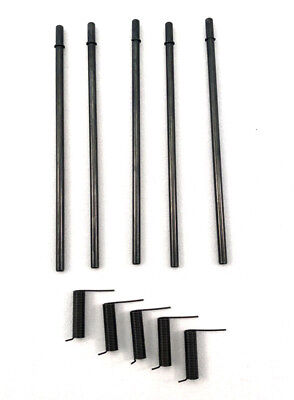 5x Ejection Port Kits - Rod Spring Clips (5 full sets) Pre-installed C-clips!