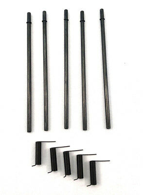 5x Ejection Port Kits - Rod - Spring - Clips (Five full sets)