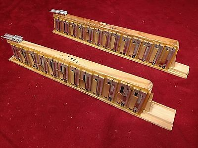 Teal Domino Accordion Repair Part - Treble Reeds MM 2 x 25
