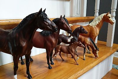 Breyer lot of six for play!