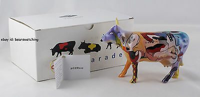 Cow Parade PICOWSSO Hard To Find Mint in Box w/Tag