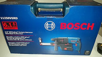 Bosch 11250VSRD 3/4-Inch 6.1 Amp 1,000 RPM SDS-Plus Corded Rotary Hammer