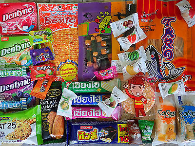 100 pcs JAPANESE Thai Variety  Set Shewy Candy / Gum / Sweets / Snacks / Gift