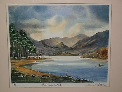 A Stunning Landscape Of Derwent Water By David Patterson Limited Edition Print