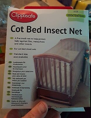 Mosquito Net For Baby Cot Bed Insect Clippasafe Keep bugs Away From The Baby Bed