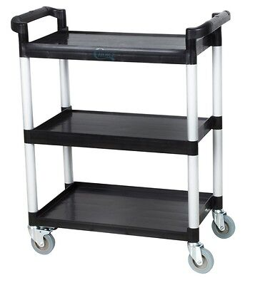Utility Cart With Wheels Multi Purpose Restaurant Bus Carts NEW Cleaning Supply
