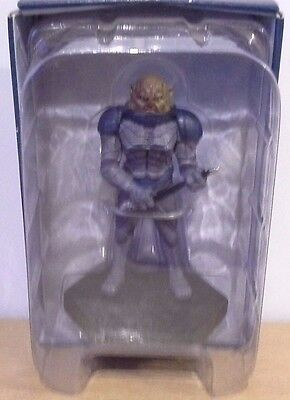 "Official BBC Doctor Who Figurine Collection #7 Sontaran General 4"" Figure"