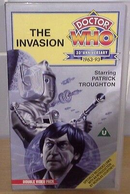The Invasion Doctor Who Double VHS Video 30th Anniversary Edition Patrick Trough