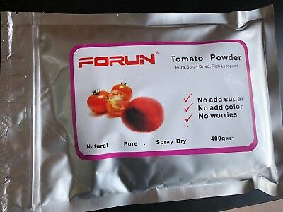 FORUN Spray Dried Tomato Powder (Natural, Pure)  1.2KG (400g*3bags)-Great Value