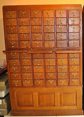 Vintage Library Card Catalogue