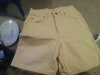 VTG 90s LEVI'S 950 Relaxed Fit JEAN SHORTS Women's 7 Saffron High Waist!
