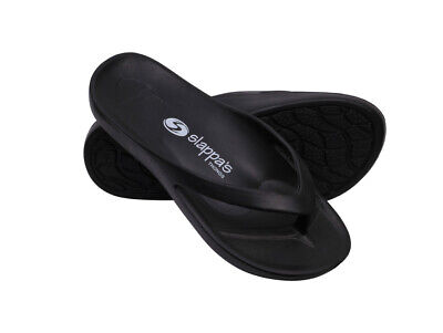 Black Slappa's - Arch Support Thongs