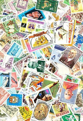World Wide 1,000 All Different Used Stamps