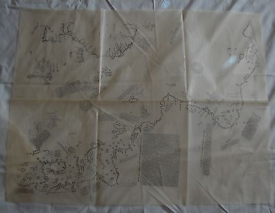 Piri Reis Map / Tracing (in Folder with Booklet) 1935 Istanbul