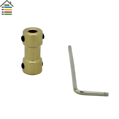 3-3.17mm Copper Shaft Coupling Coupler Gear Motor Transmission RC Airplane Joint