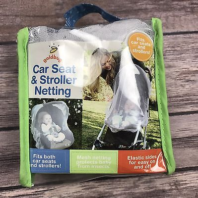 Goldbug Car Seat and Stroller Netting Mesh Insect Cover Mosquitoes Bugs Bees