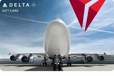 $1000 Delta Air Lines Gift Card - EMail Delivery