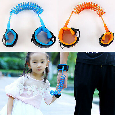 1.5M Kids Baby Toddler Anti-lost Link Band Elastic Harness Safety Leash Strap