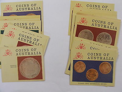 Nabisco Coins of Australia set of 30 cards 1965