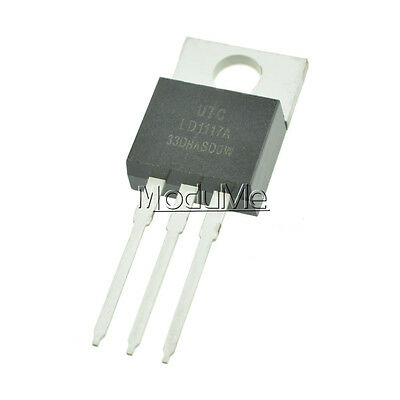 2PCS LD1117V33 LD1117 3.3V 800mA TO-220 Linear Voltage Regulator NEW MO
