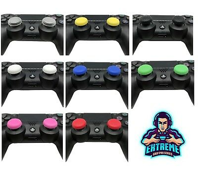 2 x EGP© [Round Series] Thumb Stick Cover Grip Caps For Sony PS4 Controller