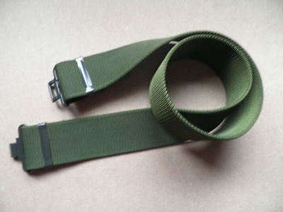 "British Army 2"" MTP Green heavy duty webbing daily work belt. 2 sizes, new."