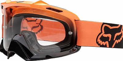 FOX AIRSPC MOTOCROSS GOGGLES KTM ORANGE NEW! Motorcross Dirt bike MX Off road