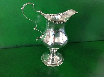 Hester Bateman Georgian Antique English Sterling Silver Creamer Milk Jug 1783
