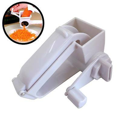 Durable Hand Rotating Cheese Grater Rotary Ginger Slicer Graters Kitchen Gadget
