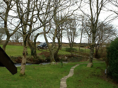 Isle of Arran - stunning building plot with existing lodge - 5 mins from Brodick